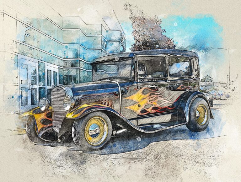 Car Automotive Hot Rod - ArtTower / Pixabay