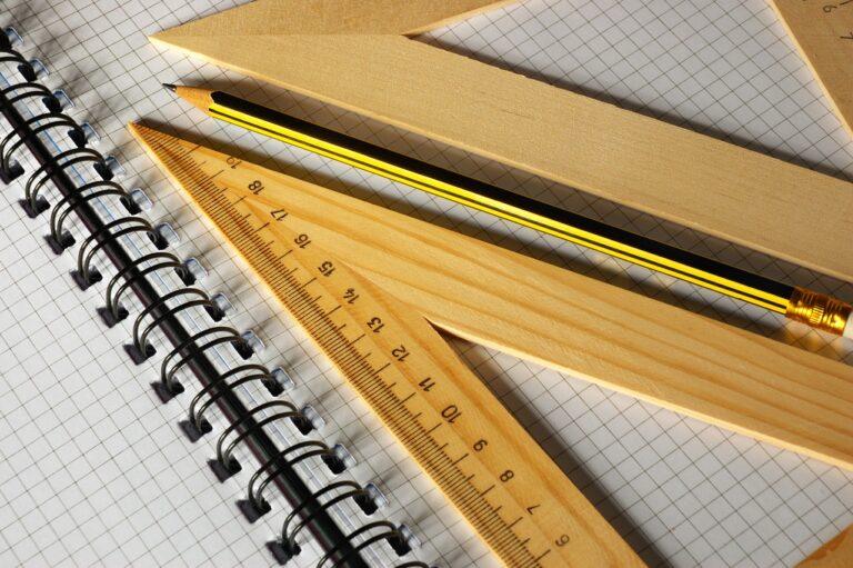 Pencil Ruler Notebook Paper  - ds_30 / Pixabay
